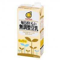 マルサンアイ 毎日おいしい 無調整豆乳 1000ml×12本