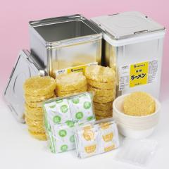 【送料無料】防災食 保存用味噌ラーメン 50食(一斗缶×2)