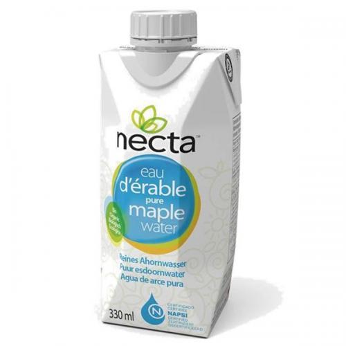 【送料無料】<訳あり>Necta ネクタ 100% メープルウォーター 330ml×2ケース(合計24本)(賞味期限2018年3月22日)