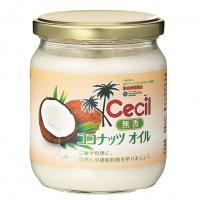 【送料無料】セシル 無香 ココナッツオイル 380g