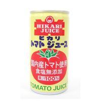 【送料無料】光食品  トマトジュース食塩無添加 190g×30缶