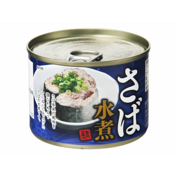 【送料無料】さば水煮缶 180g×48缶