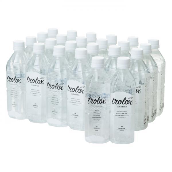 【送料無料】Trolox トロロックス 天然抗酸化水 500ml×24本