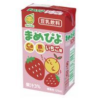 【送料無料】マルサンアイ まめぴよ いちご味 125ml×24本