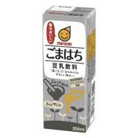 【送料無料】マルサンアイ 豆乳飲料 ごまはち 200ml×24本
