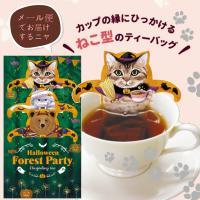 【送料無料】<メール便>日本緑茶センター ハロウィンフォレストパーティー ダージリン ティーバッグ3P入り