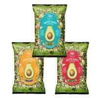 【送料無料】TEMOLE ティモレ アボガドチップス 3種×各3袋シーソルト・ナチョチーズ・トマトサルサ(合計9袋)