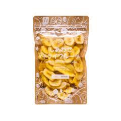 【送料無料】ドライ バナナチップス 150g フィリピン 食物繊維 カリウム 着色料不使用 ドライフルーツ <メール便可>(ポイント消化)