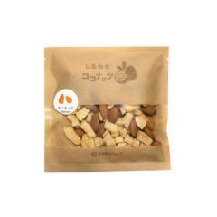 しあわせココナッツ 70g ココナッツ&アーモンド  南国フルーツ ビタミンB 葉酸 食物繊維 美容  健康 ダイエット お菓子 <メール便 送料無料>