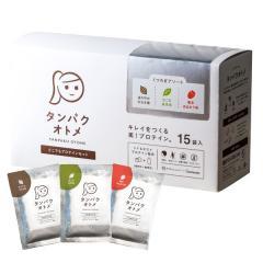 【送料無料】タンパクオトメ 分包15包タイプ(1個購入につきシェイカー1本付き)