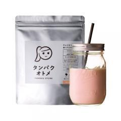 <LOHACO> タンパクオトメ (さわやかピーチ)260g 美容専用 プロテイン 筋肉 葉酸 ビタミン 砂糖不使用 ダイエット 置き換え 糖質制限 タンパク質 <メール便 送料無料> <3個以上ご注文のお客様は画像