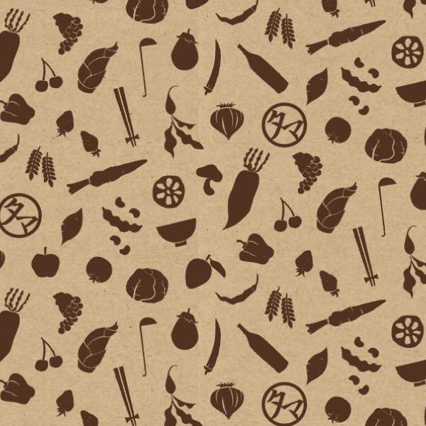 【送料無料】ラッピング紙 タマチャン野菜柄タイプ(クラフト×茶)【単品購入はできません。】 タマチャンショップオリジナル / ギフトラッピング【【5%OFFクーポン利用可能】【コード:C2Y8WET】