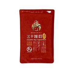 【送料無料】三十雑穀 (赤) 300g <3個以上で軽量スプーン1本プレゼント> 30雑穀 国産 もち麦配合 <メール便可>