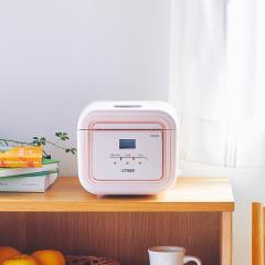 タイガー 炊飯器 マイコン 3合 tacook JAJ-G550PC コーラルピンク 炊飯ジャー 炊きたて 1人暮らし おかず 同時調理