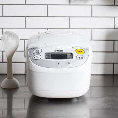 タイガー マイコン炊飯器 5.5合 JBH-G101W ホワイト