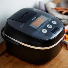 タイガー IH炊飯器 5.5合 JPE-A100K ブラック
