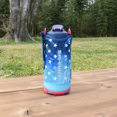 タイガー 水筒 ステンレスボトル「サハラ」MME-F100AS ネイビー 1.0L 直飲み 保冷専用 ダイレクト スポーツ ボトル