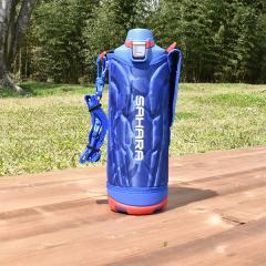 タイガー 水筒 ステンレスボトル「サハラ」MME-F120AK ブルー 1.2L 直飲み 保冷専用 ダイレクト スポーツ ボトル