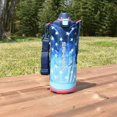 タイガー 水筒 ステンレスボトル「サハラ」MME-F120AS ネイビー 1.2L 直飲み 保冷専用 ダイレクト スポーツ ボトル