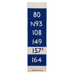 <LOHACO> BUS STATION KITCHEN MAT 50×180cm ブルー