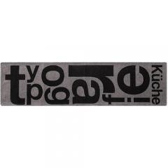 TYPOGRAPHY [typg] RUG 50×180グレー
