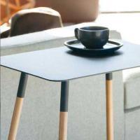 【Tポイント10倍】PLAIN(プレーン) サイドテーブル角型 ブラック