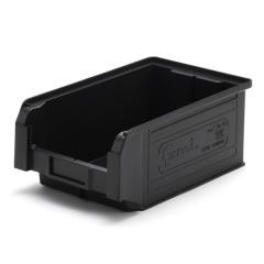 Fami (ファミ) プラスチックコンテナ S ブラック
