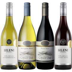 【送料無料】ニュージーランド 厳選ワイン飲みくらべ 赤・白 4本セット