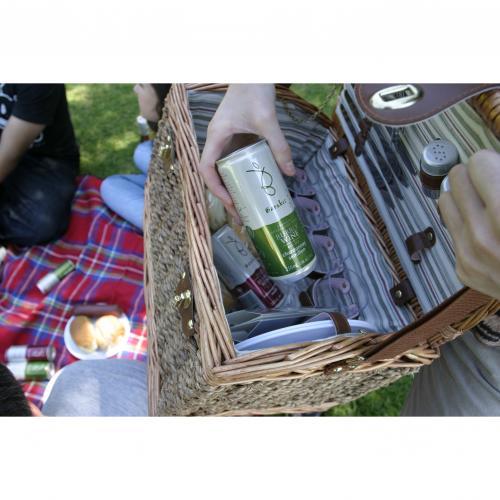 【送料無料】バロークス スパークリング缶ワインロゼ