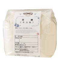 白椿(日清製粉) / 1kg TOMIZ(富澤商店) うどん(中力粉)、そば、パスタ用粉 うどん用粉