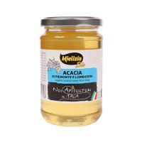 ミエリツィア イタリア産 アカシアの有機ハチミツ 400g