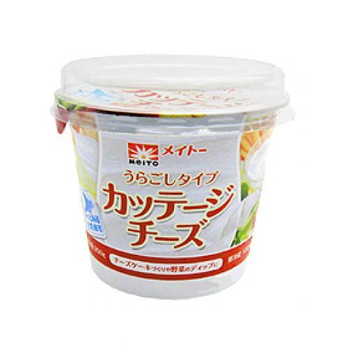 10%OFFクーポン対象商品 【冷蔵便】メイトー カッテージチーズ(裏ごし) / 200g TOMIZ/cuoca(富澤商店) クーポンコード:KZUZN2T