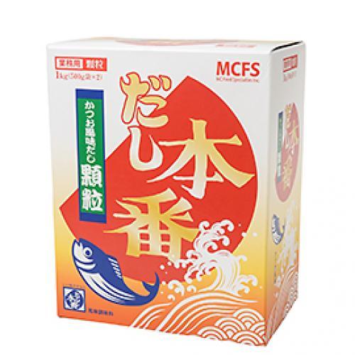 だし本番かつお風味だし顆粒 / 1kg(500g×2) TOMIZ/cuoca(富澤商店) 和食材(加工食品・調味料) だしの素
