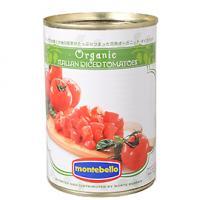 モンテベッロ・有機ダイストマト / 400g TOMIZ(富澤商店) イタリアンと洋風食材 トマト