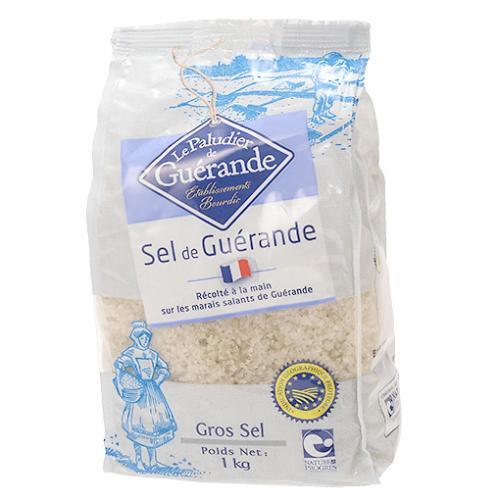 ゲランドの塩(あら塩) / 1kg TOMIZ/cuoca(富澤商店) 塩 海塩