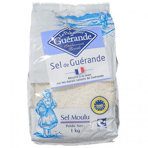 ゲランドの塩(顆粒) / 1kg TOMIZ/cuoca(富澤商店) 塩 海塩