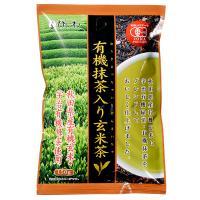 ひしわ 有機抹茶入り玄米茶 / 150g TOMIZ(富澤商店) 珈琲・お茶 日本茶・健康茶
