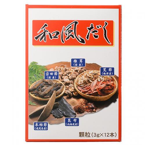 和風だし / 3g×12 TOMIZ/cuoca(富澤商店)