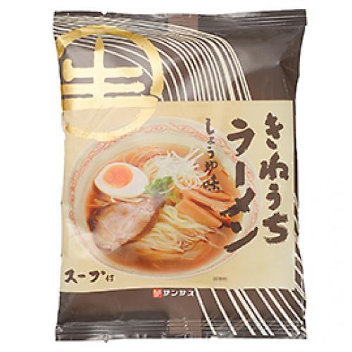 サンサスきねうち生麺 ラーメンしょうゆ味 / 185g TOMIZ/cuoca(富澤商店)