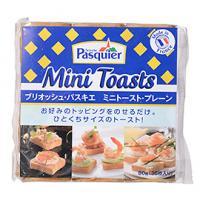 ミニトースト・プレーン / 80g(36枚) TOMIZ/cuoca(富澤商店) スナック おやつ・駄菓子