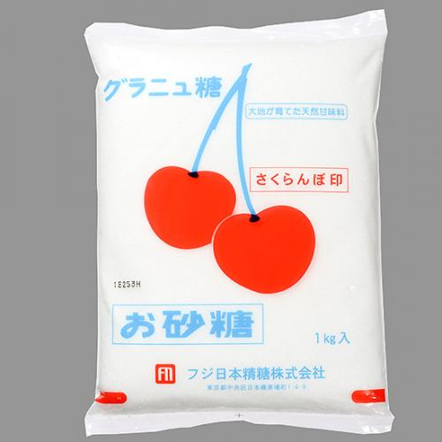 さくらんぼ印 グラニュー糖 / 1kg TOMIZ/cuoca(富澤商店) 白い砂糖 グラニュー糖
