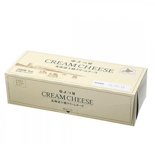 【冷蔵便】よつ葉 北海道十勝クリームチーズ / 1kg TOMIZ/cuoca(富澤商店)