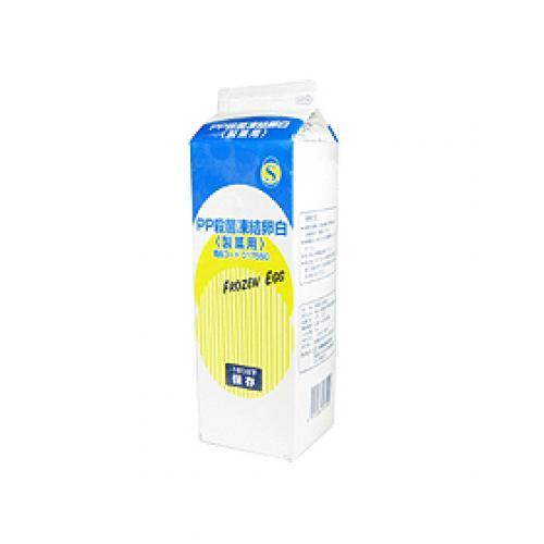 【冷凍便】三州食品 PP殺菌凍結卵白(製菓用) / 1kg TOMIZ/cuoca(富澤商店) 卵 凍結卵