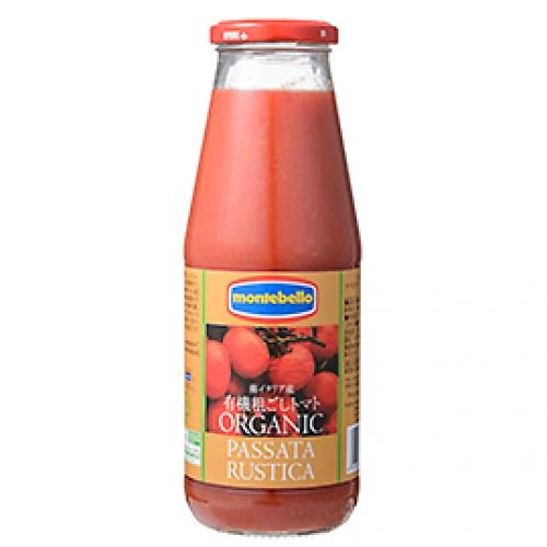 モンテベッロ 有機粗ごしトマト / 700g TOMIZ(富澤商店) イタリアンと洋風食材 トマト