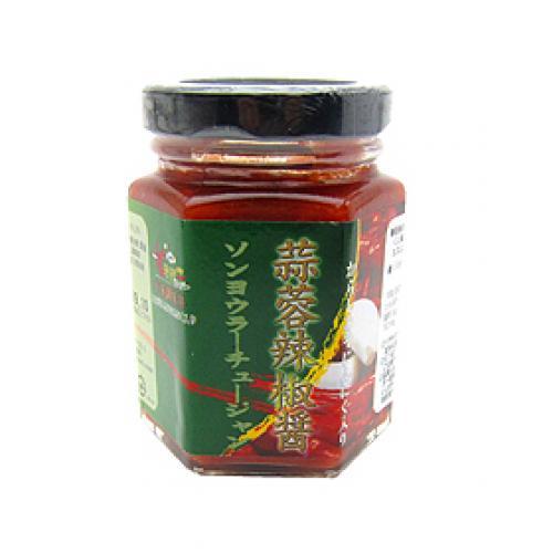 蒜蓉辣椒醤 / 110g TOMIZ(富澤商店) 中華とアジア食材 調味料(中華)