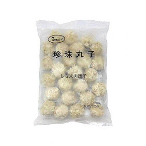 【冷凍便】珍珠丸子(もち米肉団子) / 25g×25個 TOMIZ(富澤商店) 中華とアジア食材 中華食材