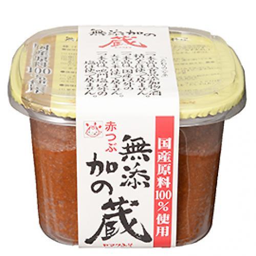 ヤマク 無添加の蔵 赤つぶ / 750g TOMIZ/cuoca(富澤商店)