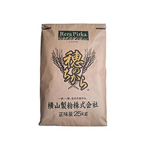 穂のちから(ゆめちからブレンド)横山製粉 / 25kg TOMIZ/cuoca(富澤商店) パン用粉(強力粉) 強力小麦粉