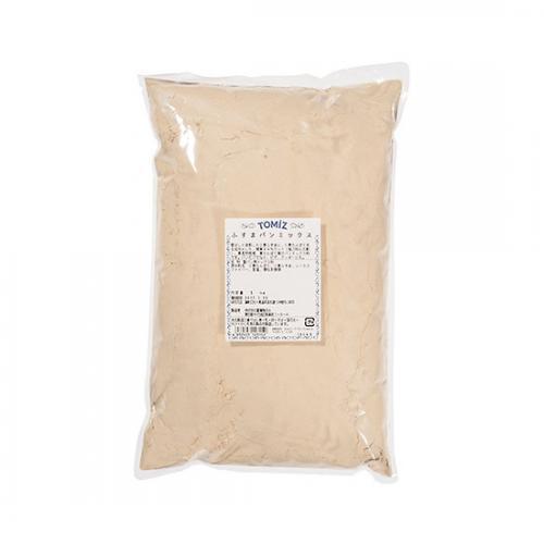 ふすまパンミックス / 1kg TOMIZ/cuoca(富澤商店) パン用ミックス粉 HBミックス粉 糖質OFF ブランパン ホームベーカリー 保存に便利なチャック袋入
