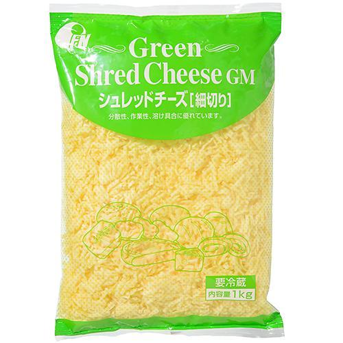 【冷蔵便】グリーンシュレッドチーズ / 1kg TOMIZ/cuoca(富澤商店)